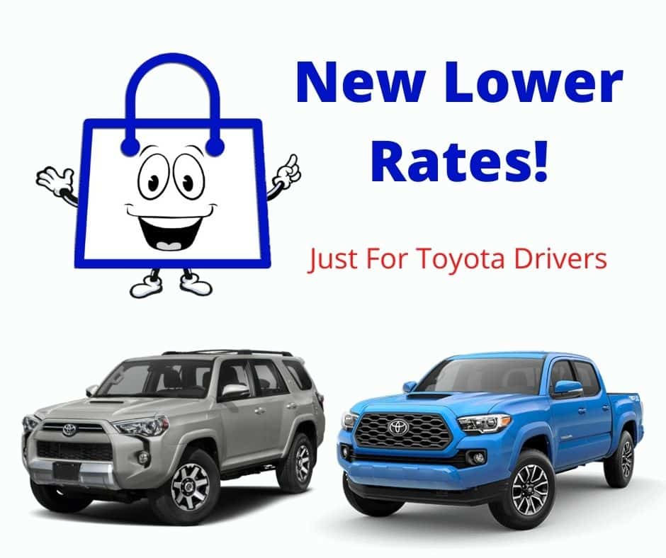 New Lower Rates For Toyota